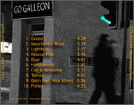 Go Galleon back cover